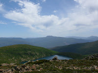 Mt Picton across Hartz Lake from the Hartz Peak track - 12 January 2008