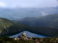 Hartz Lake with clearfell - 3 Feb 2007