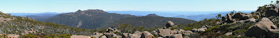 Panorama from Thark Ridge, Collins Bonnet in centre - 25th Oct 2007