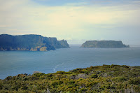 Cape Pillar and Tasman Island from Mount Brown - 7th Spetember 2009