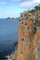 Cape Hauy, The Candlestick and The Lanterns from the Dolomieu Cliffs - 12th September 2010