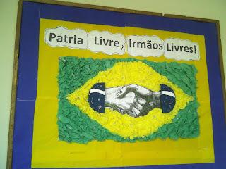 Painel Bandeira do Brasil