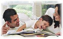 Семья, счастье, радость, смех
