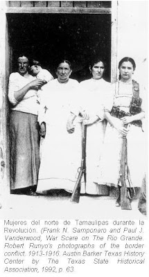 Mujeres del norte de Tamaulipas durante la Revolución