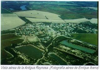 Vista aerea de la Antigua Reynosa