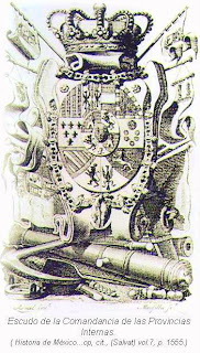 Escudo Comandancia Provincias Internas