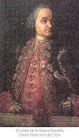 Virrey de la Nueva Espana Carlos Francisco de Croix