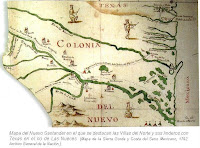 Mapa del Nuevo Santander
