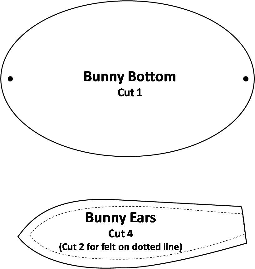 Free Stuffed Bunny Pattern - Make Baby Stuff