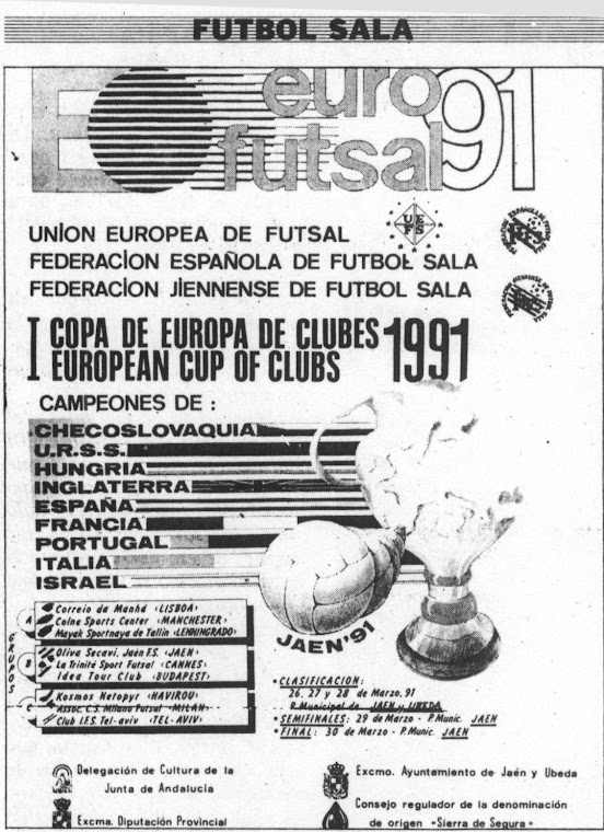 Copa de campeones UEFS 1991
