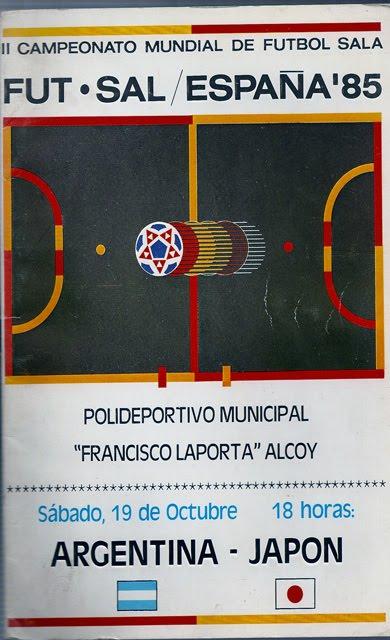 II Mundial Futsal 85