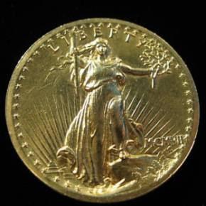 Amerikanische Goldmünze St Gauden 20 Dollar