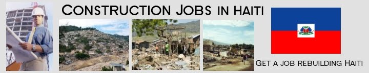 Construction Jobs in Haiti