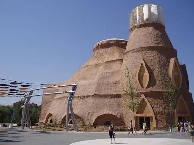 Edificio de El Faro en ExpoZaragoza 2008