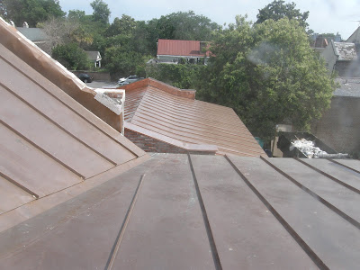Copper Roof Installation - Broad Street, Charleston, SC