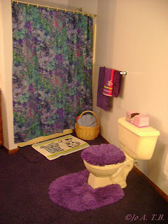 Literally in the moment my purple bathroom remodel home for Deep purple bathroom ideas
