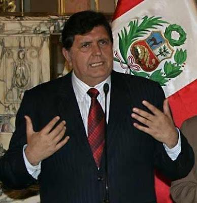 Foto de Alan García Pérez
