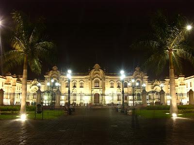 Foto del Palacio de Gobierno del Perú