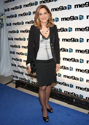 María Elvira Salazar en Mega Tv
