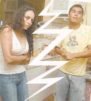 Sara Manrique con Tenchi Ugaz