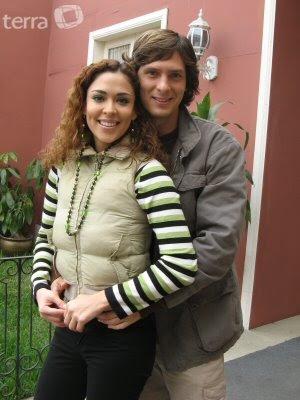 Adriana Quevedo y su ex enamorado Christian Rivero
