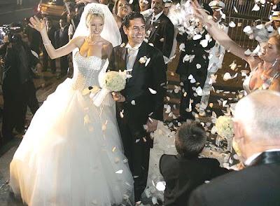 Foto de la Boda de la pareja Julia Trappe y Juan Diego Florez