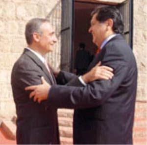 Alex Kouri con Alan García