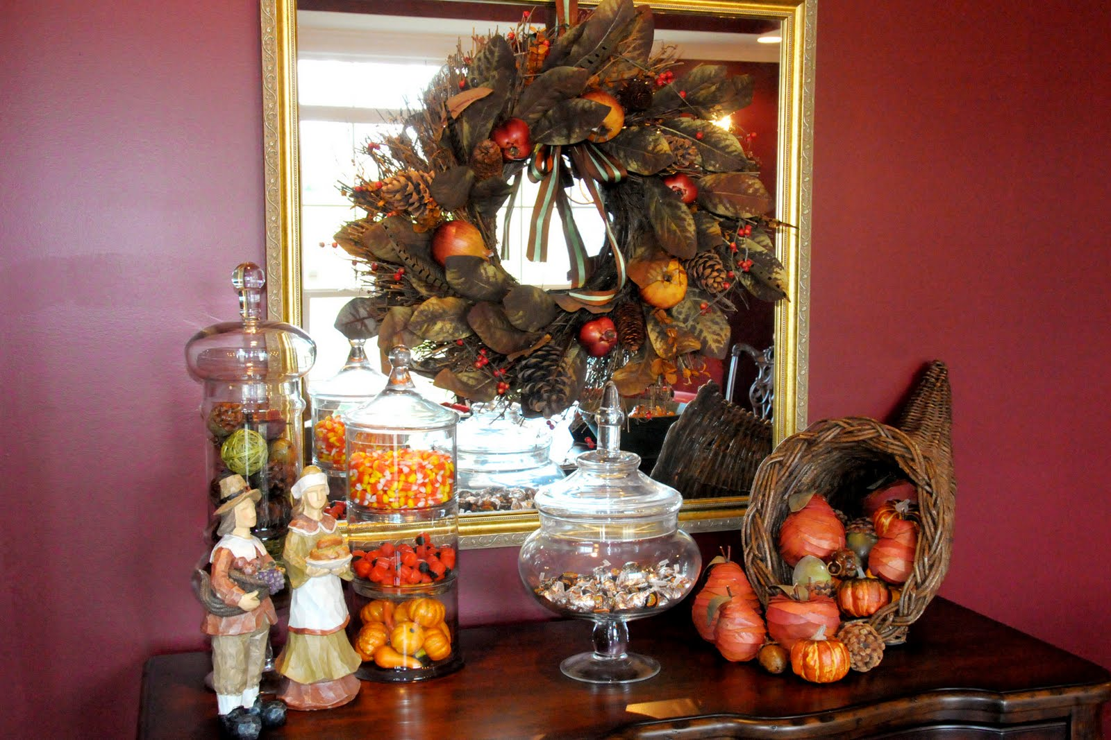 Fall and halloween craft ideas the polka dot chair - Thanksgiving decorations ...