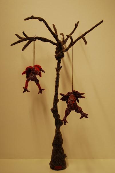 Skulpturelle træer