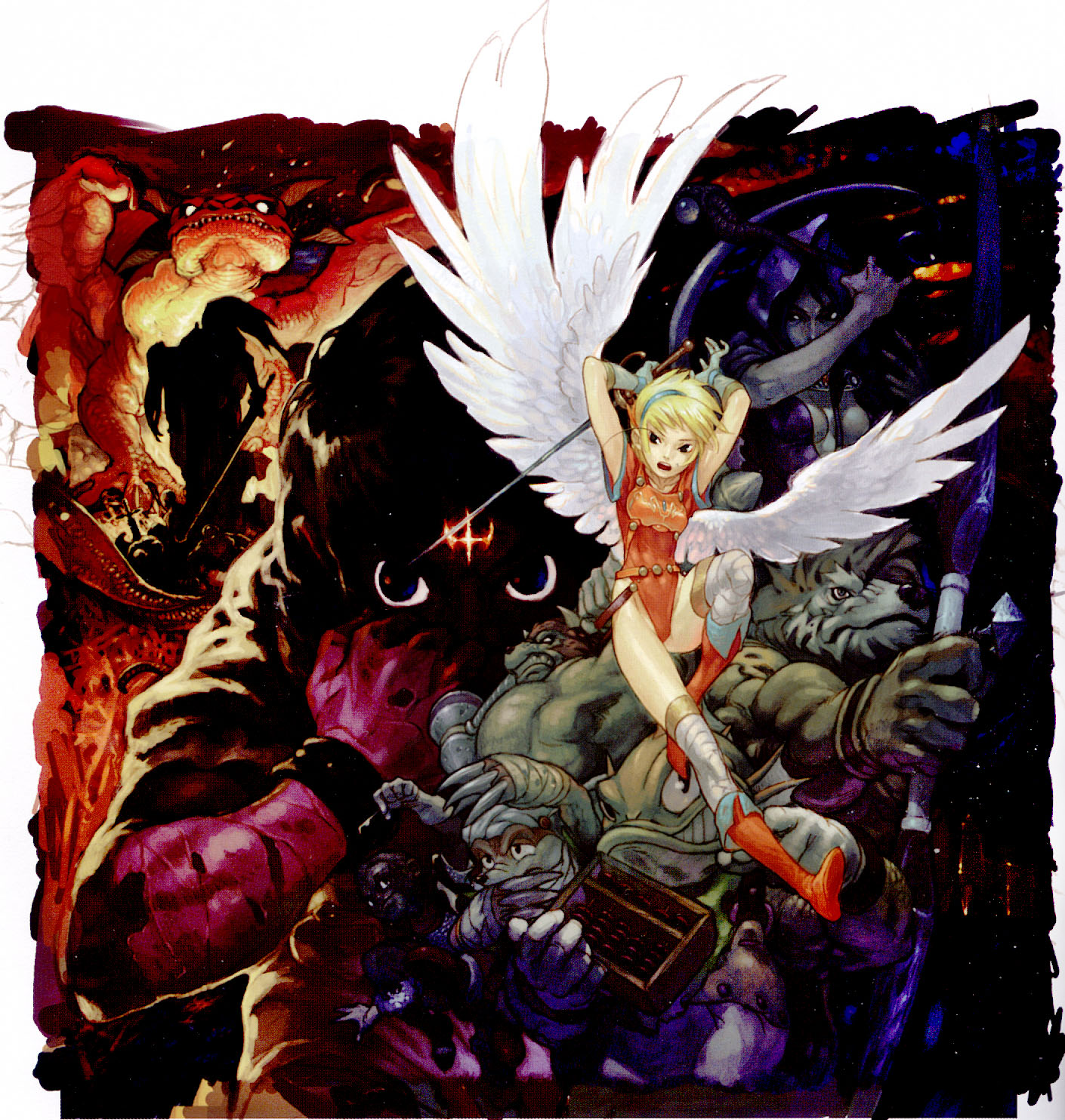 Breath of Fire HD & Widescreen Wallpaper 0.186560938810527