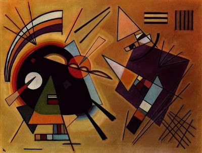 Black and Violet Wasily Kandinsky, 1923