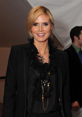 Heidi Klum Layered Chainlink Necklace