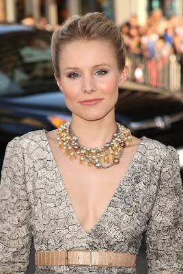 Kristen Bell Beaded Collar Necklace