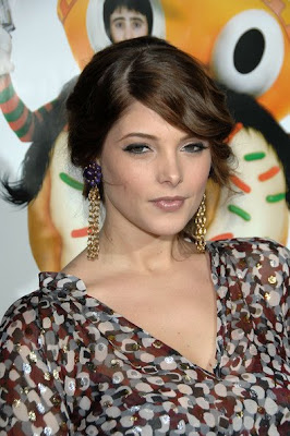 Ashley Greene Gold Dangle Earrings