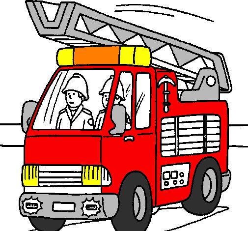 aqui os dejo unos enlaces para colorear bomberos extintores on line