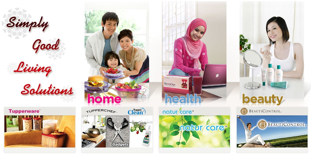 Tupperware Brands - Simply Good Living Solutions....