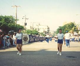 Desfile tradicional de la MAG