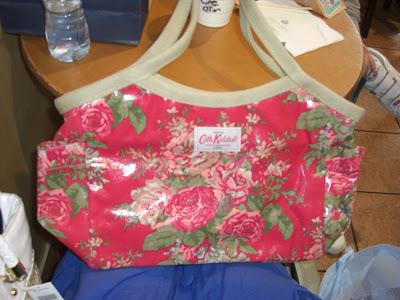 wallpaper cath kidston. A Cath Kidston bag that my
