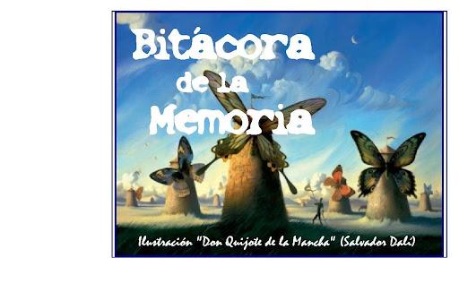 Bitácora de la Memoria
