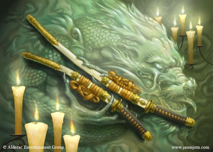 the celestial agonies l5r 4e samurai weapons