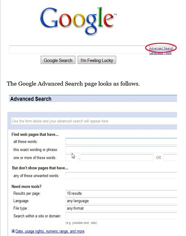 how to use google archive