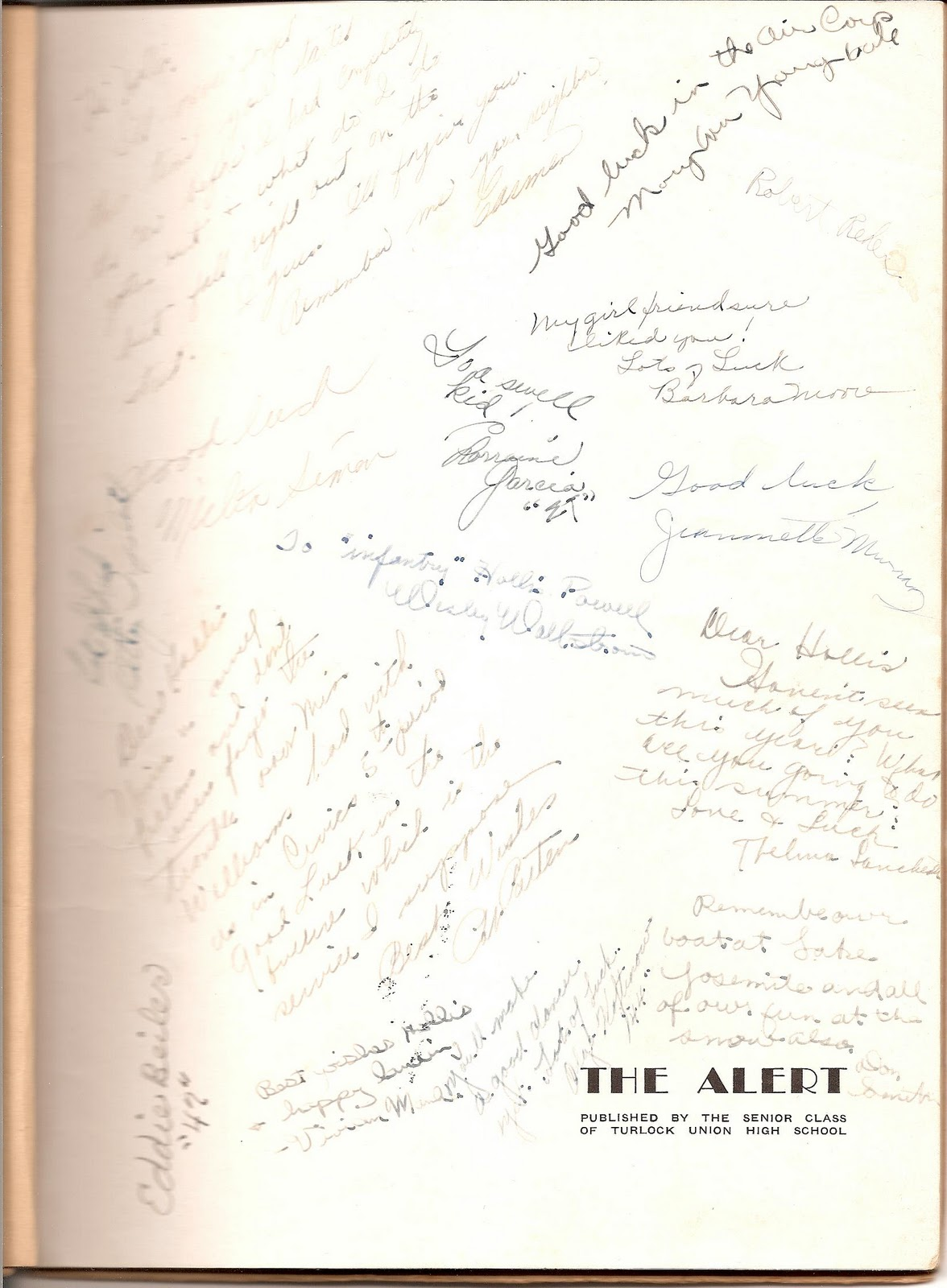 Autograph Page - Bing images