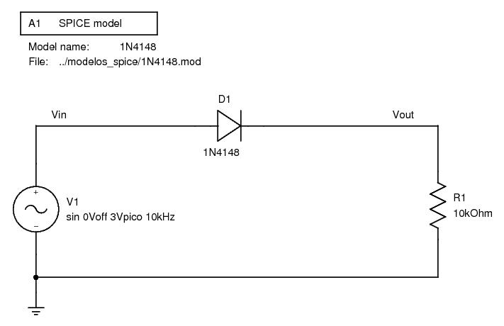 Circuito Rectificador De Media Onda : Charlie ray rectificador de media onda simulación