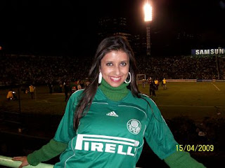 Musa do Palmeiras Raphaella 3