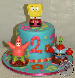 how to make a spongebob cake at home