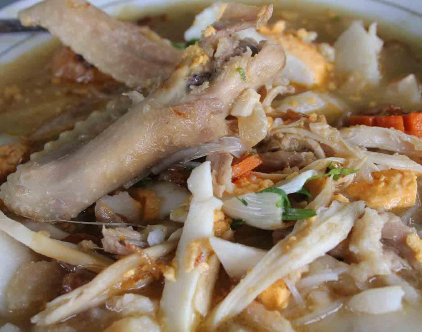makanan khas unik resep soto banjar asli