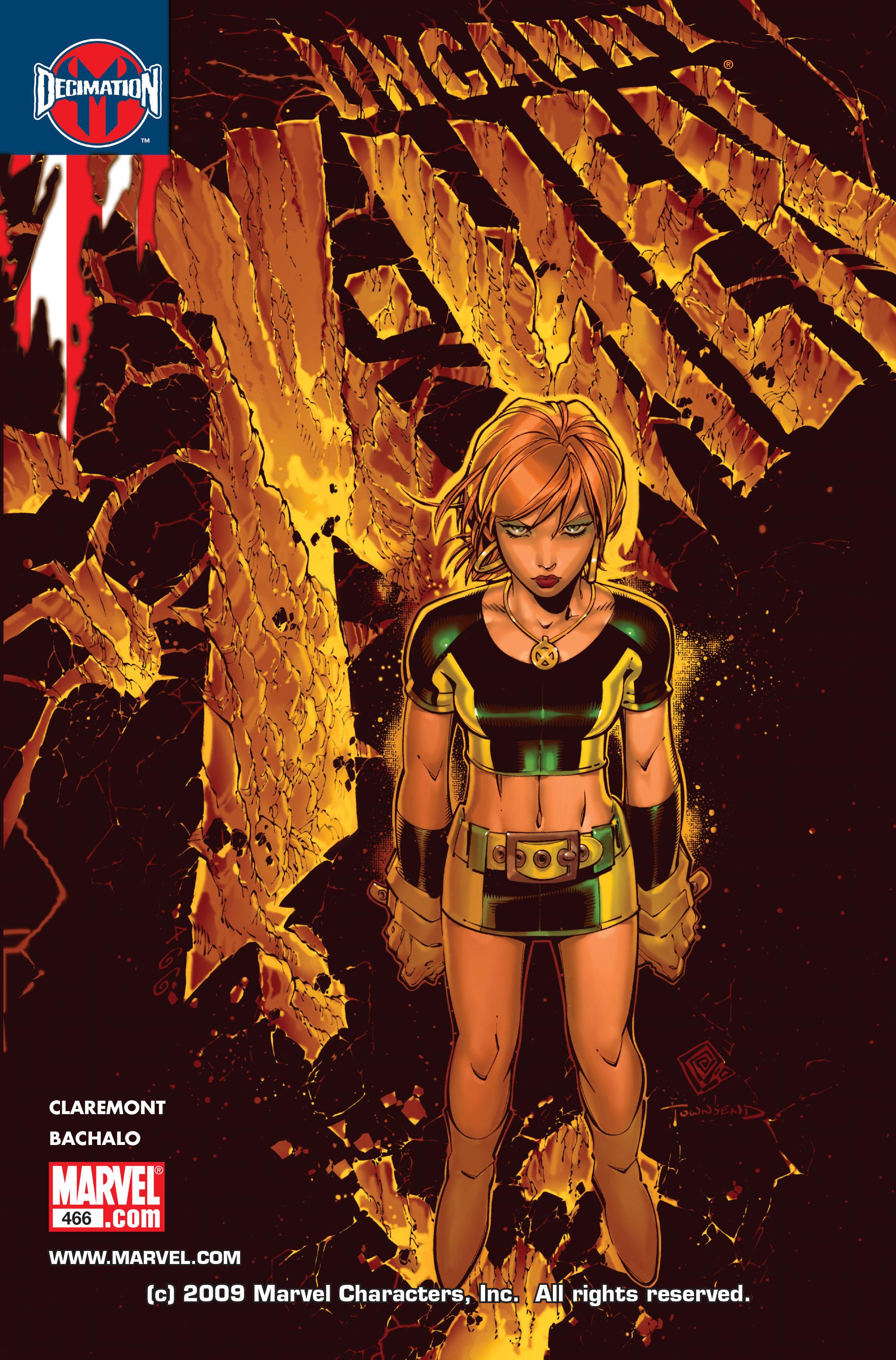 Uncanny X-Men (1963) 466 Page 1