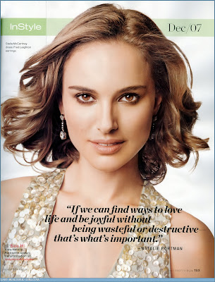Natalie Portman Instyle Pictures