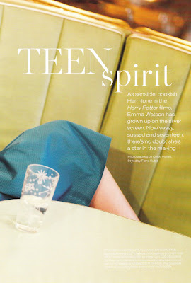 Emma Watson Instyle Magazine Pics