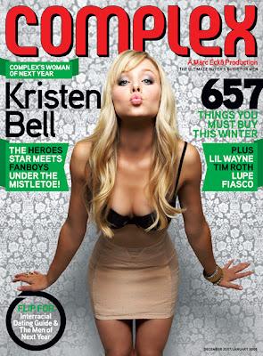 Kristen Bell Complex Magazine Cover